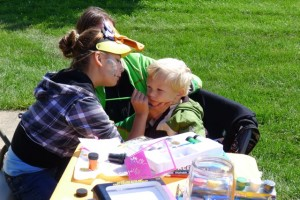 Face painting masterpieces!