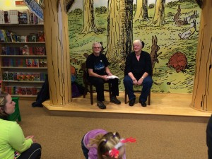"Signing & interpreter voicing for a part of Johnathan Rand's book, ""Ghoulish Ghouls of Grand Rapids"""