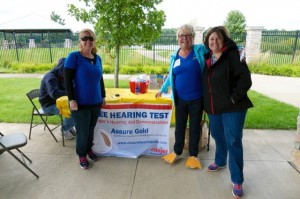 Free hearing screenings provided by Ashley from Meijer Hearing Centers
