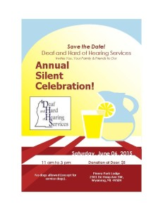 Silent Celebration 2015 Flyer with price